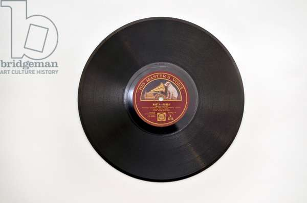 78rpm record by