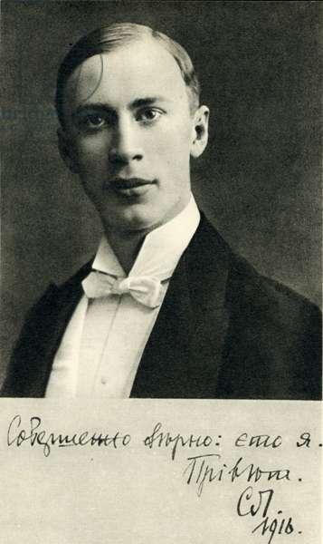 Sergei Prokofiev  in