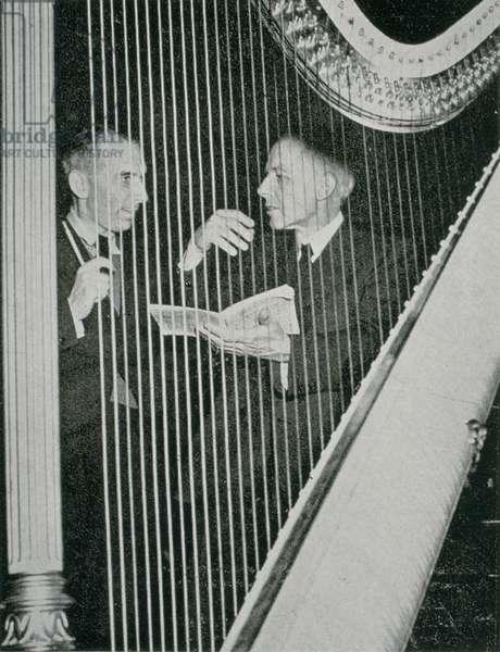 Bela Bartok with Rudolf