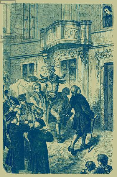 Haydn presented with an Ox for his minuet
