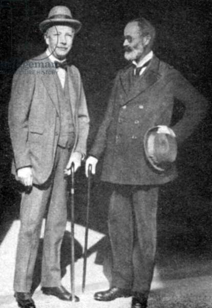Richard Strauss and Alfred