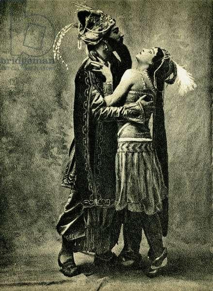 Adolf Bolm and Tamara