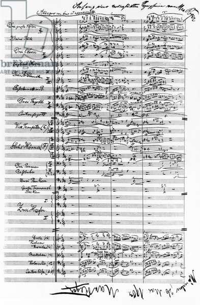 Max Reger symphony