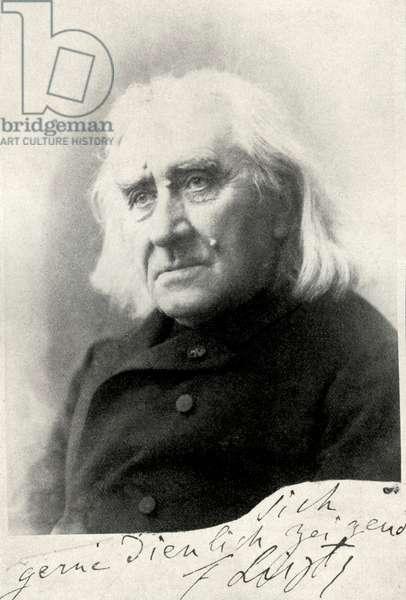 Franz Liszt 1885