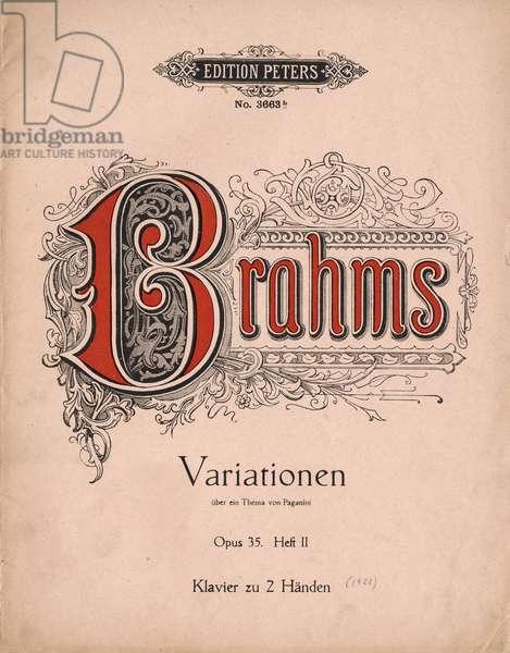 Johannes Brahms 's Variation