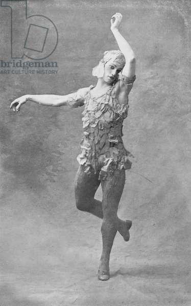 Vaslav Nijinsky - dancing
