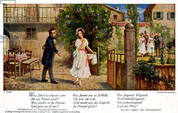 Franz Schubert  with