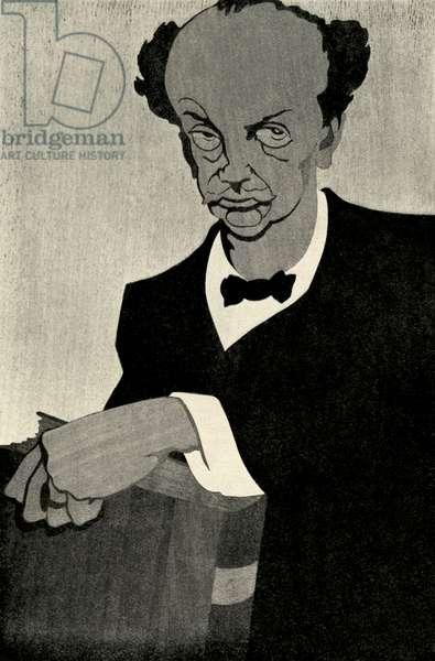 Richard Strauss by Krotowski