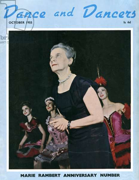 Marie Rambert Anniversary Number of 'Dance and Dancers'