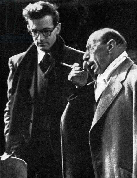 Igor Stravinsky in Munich