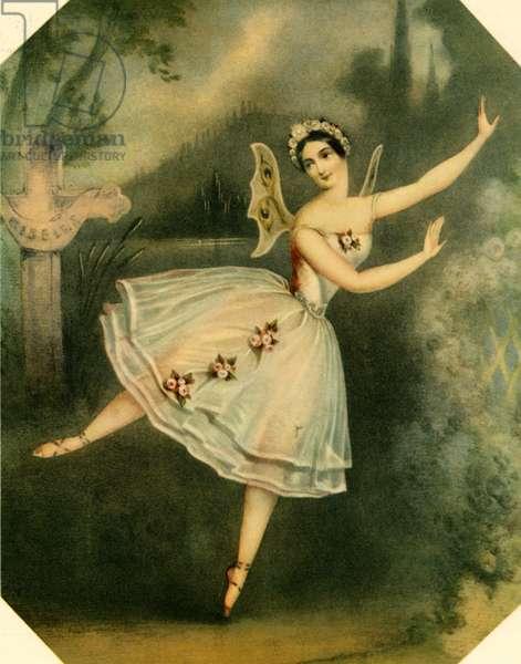 Carlotta Grisi in Jean