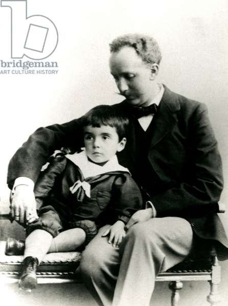 Richard Strauss and son