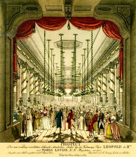 Leopold II 's coronation ball