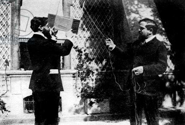 Claude Debussy and Louis Laloy