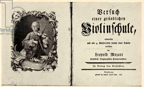 Leopold Mozart's treatise on