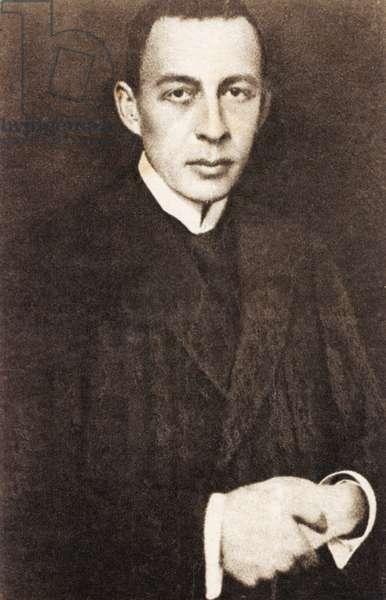 Sergey Rachmaninov as a