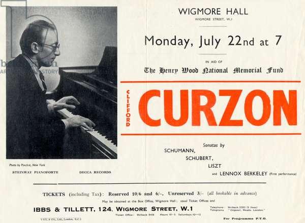 CURZON Sir Clifford -