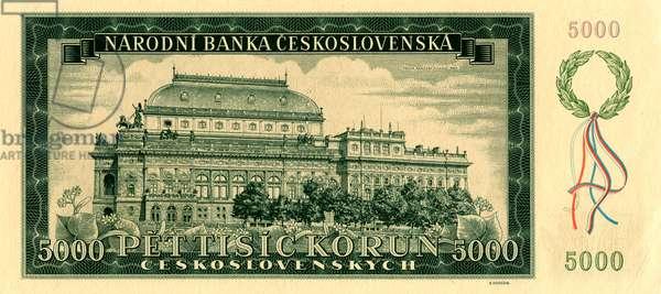 Prague National Theatre on