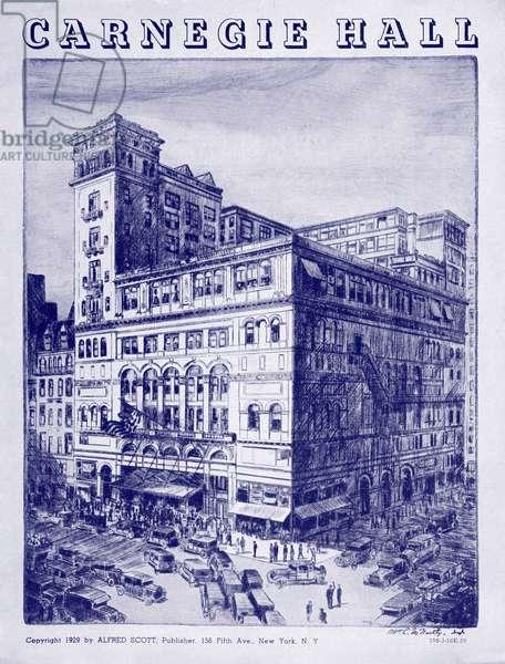 NEW YORK - Carnegie Hall