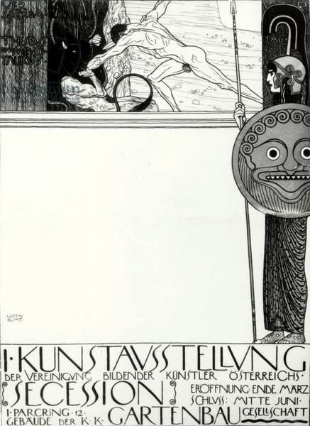 Poster for the 1st  Vienna Secession