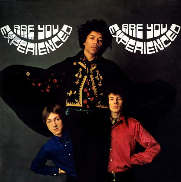 The Jimi Hendrix Experience - Are you Experienced. LP record cover