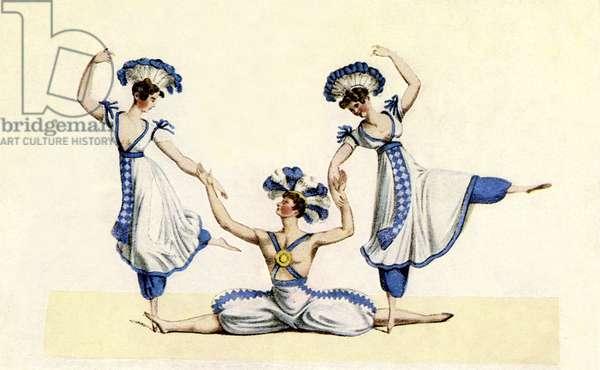 Pas de Trois 1826