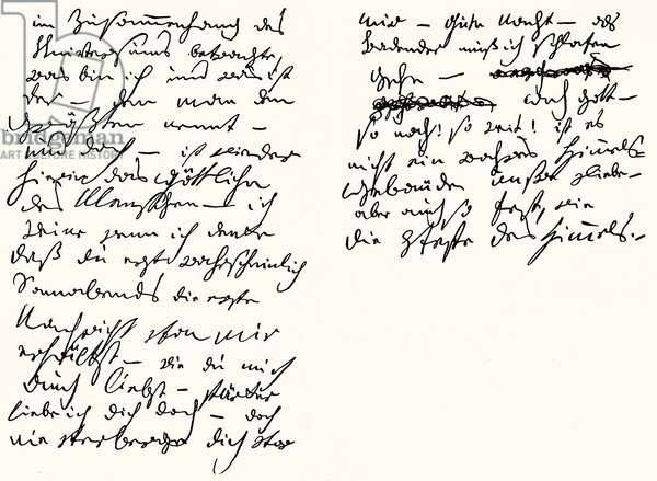 Ludwig van Beethoven 's letter to his 'Immortal Beloved', 6 July 1812