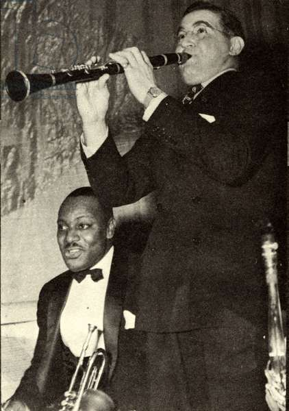 Benny Goodman with Cootie Williams in 1941