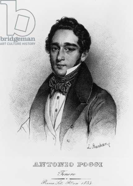 Antonio POGGI - portrait