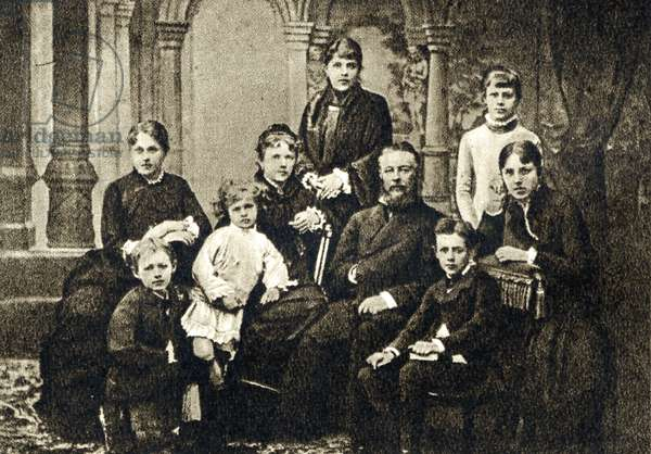 Davidov family at Kamyenka