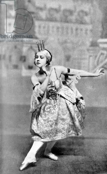 Lydia Lopokova in The Sleeping Princess