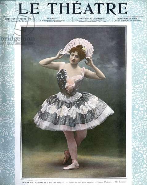 Emma Sandrini in 'Danses de jadis et de naguère'