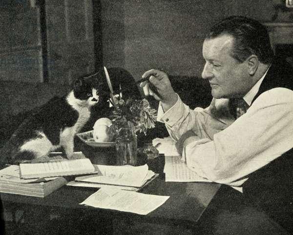 Constant Lambert and cat