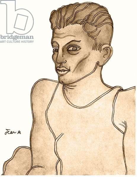 Serge Lifar - drawing