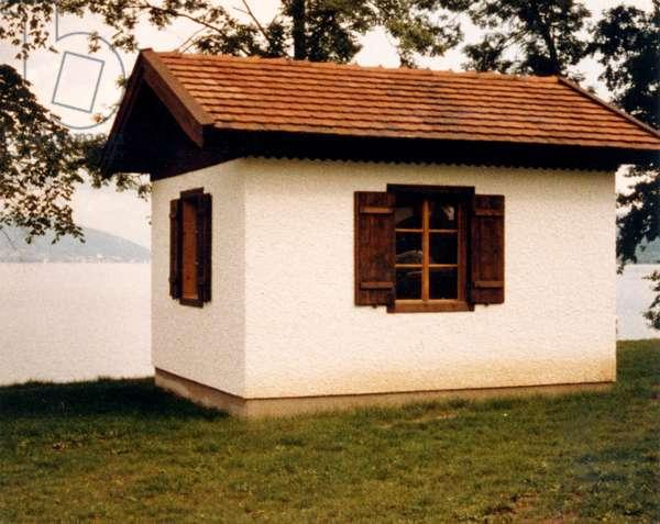 MAHLER - Composing hut