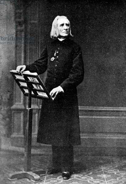 Franz Liszt at music