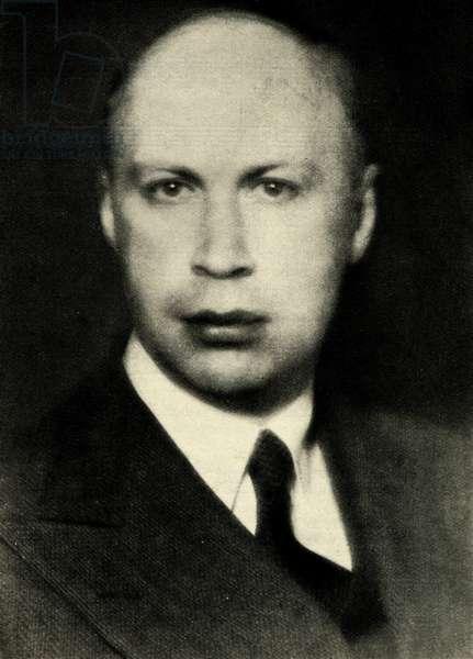 Sergei Prokofiev Russian composer