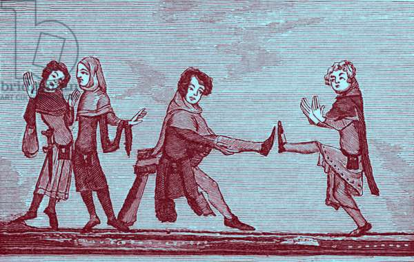 Medieval dancing - c