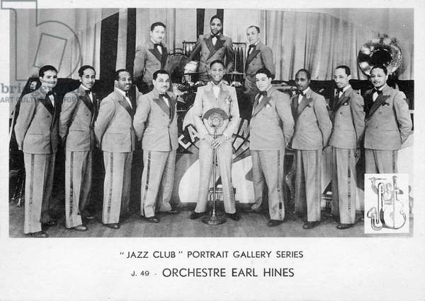 Earl Hines Orchestra - portrait