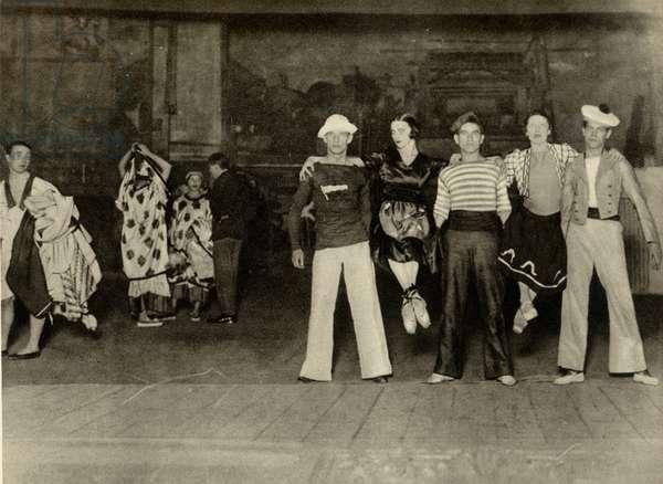 George Auric's 'Les Matelots'