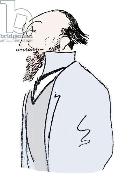 Erik Satie - caricature