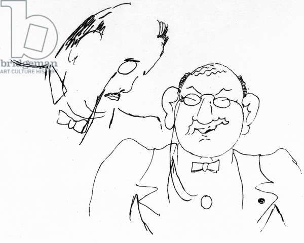 Sergei Diaghilev and Léon Bakst