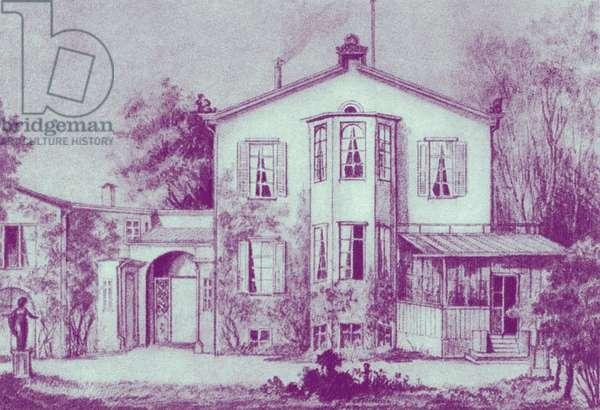 Richard Wagner's house in Munich