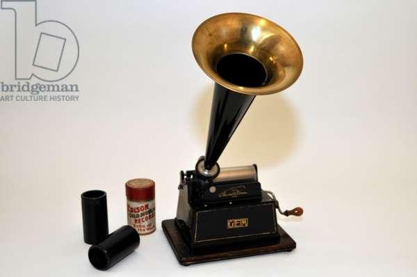 Edison gem phonograph using