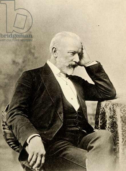 Pyotr Il'ych Tchaikovsky as