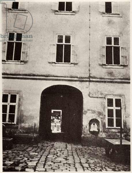 Franz Schubert - rear