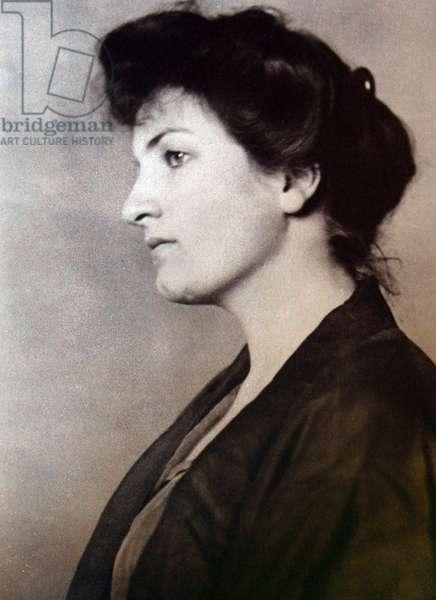 Alma Mahler portrait