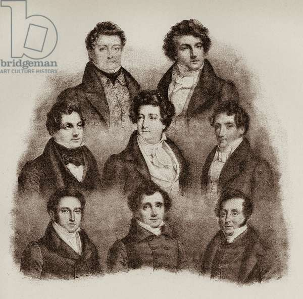 Parisian singers 1832 From