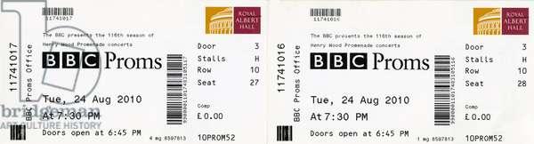 BBC Proms ticket