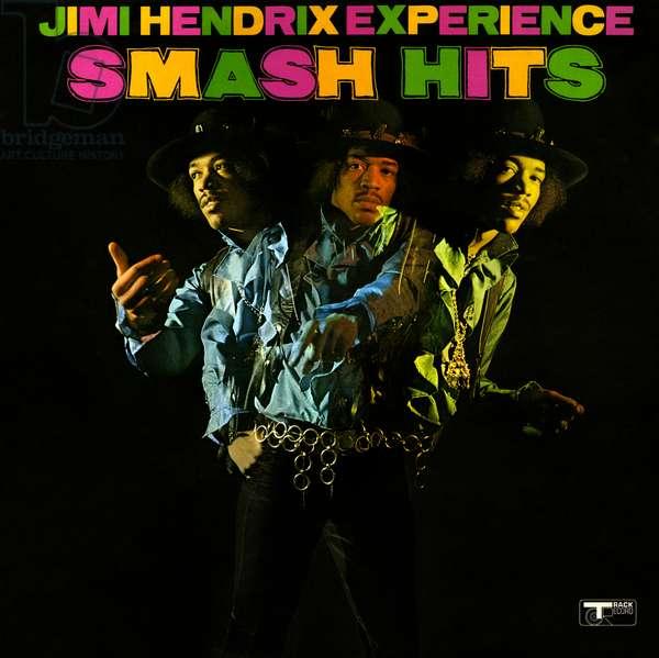 The Jimi Hendrix Experience - Smash Hits. LP record cover